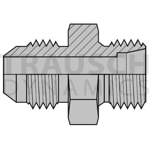 9605 ADAPTERS - MALE JIC X MALE METRIC DIN - PORT ...