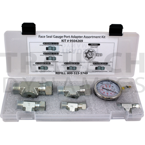 FACE SEAL GAUGE PORT ADAPTER KIT