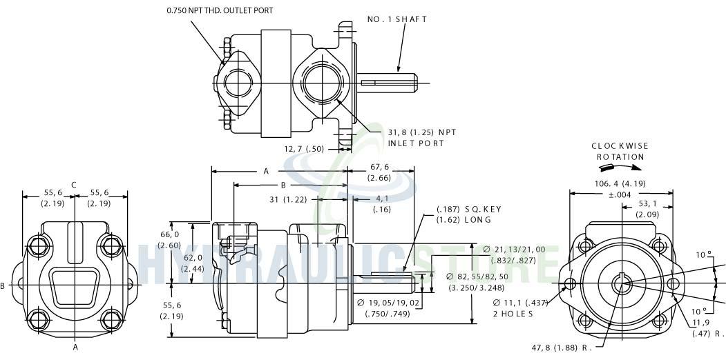 Hydraulic Pump: Vickers Hydraulic Pump Catalogue